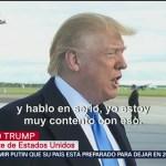 Aranceles para México van en serio, dice Trump