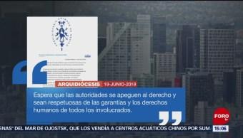 Foto: Arquidiócesis se pronuncia sobre caso Leonardo Avendaño