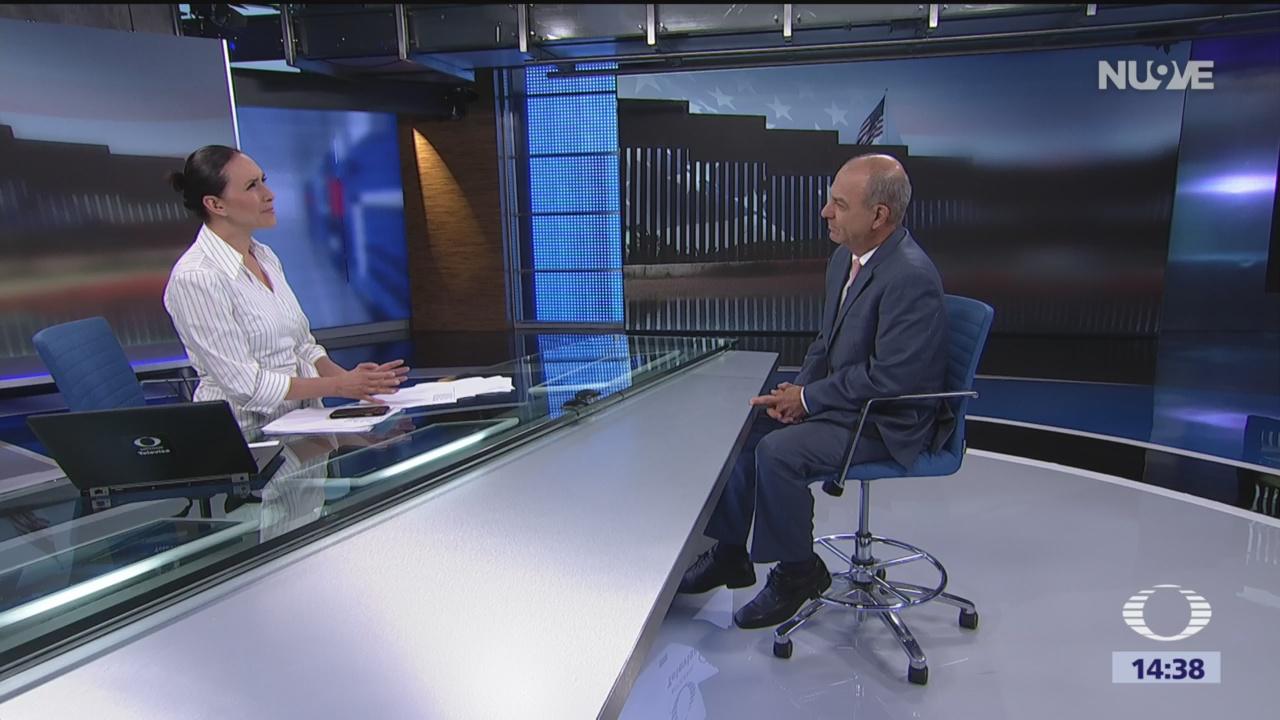 FOTO: Arturo de la Fuentes habla de negociaciones entre México y Estados Unidos