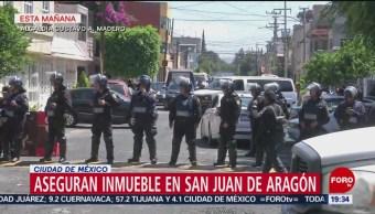 Foto: Aseguran Inmueble San Juan De Aragón 27 Junio 2019