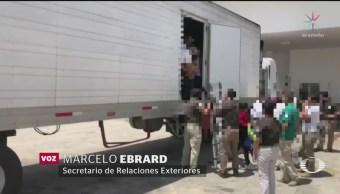 Foto: Tráfico Migrantes Personas México 17 Junio 2019
