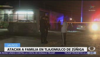 Atacan a familia en Tlajomulco de Zúñiga