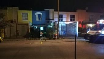 Foto: ataque a familia en Tlaquepaque, Jalisco. 3 de junio 2019. Twitter @Mizaga_25