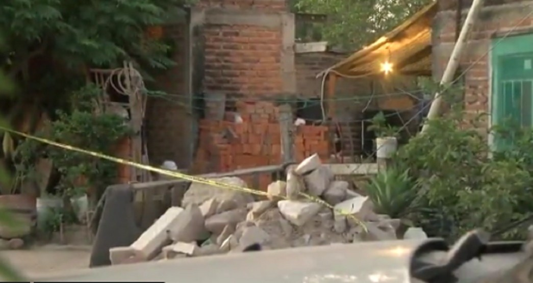 Foto: Ataque a familia en Tonalá, Jalisco. 12 de junio 2019. Twitter @GDLNoticiasC4