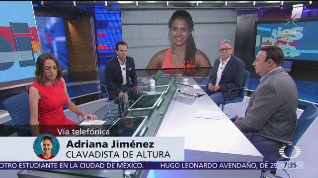 Atletas queremos apoyo de la Conade, dice clavadista Adriana Jiménez