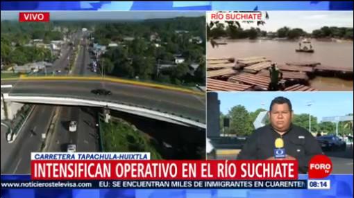 FOTO: Autoridades migratorias intensifican los operativos en Chiapas, 15 Junio 2019