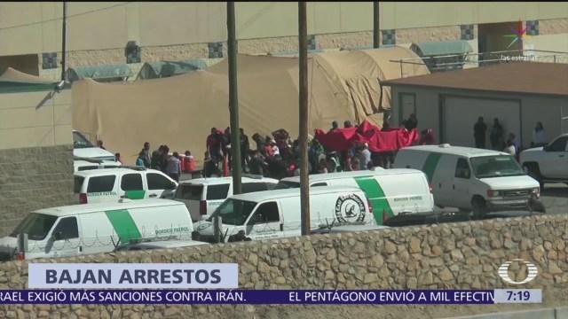 Bajan 13% los arrestos en la frontera: The Washington Post