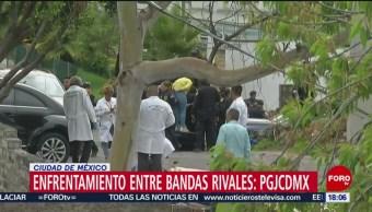 Foto: Balacera en Tlalpan, enfrentamiento de bandas rivales
