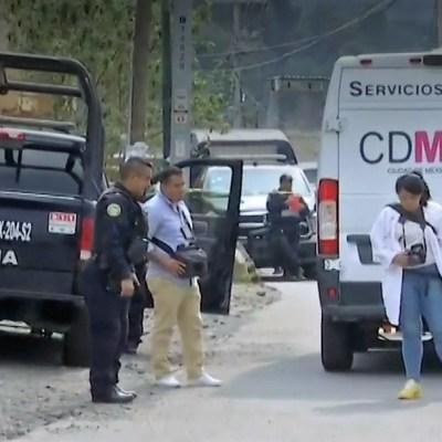 Mueren baleados un hombre, una mujer y un bebé de ocho meses en Tlalpan