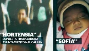 ¡Qué bonita bebe! Ladrona de una recién nacida en Naucalpan ya la seguía