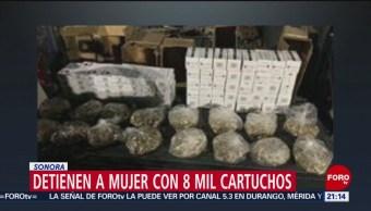 Foto: Estadounidense 8 Mil Cartuchos Arma De Fuego Sonora 9 Junio 2019