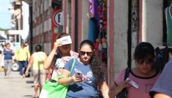 Foto: Los termómetros en Yucatán llegan a 40 grados a la sombra por un sistema anticiclónico, informa la Comisión Nacional del Agua, junio 9 de 2019 (Twitter: @NovedadesYuc)