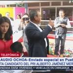 FOTO: Candidato del PRI a la gubernatura de Puebla emite su voto, 2 Junio 2019