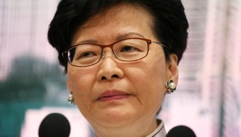 Pekín reitera su apoyo a la jefa de gobierno de Hong Kong