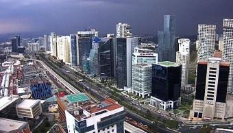 Vista panorámica de la Ciudad de México.