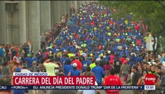 FOTO: Cerca de 10 mil personas participan en carrera por el Día del Padre en CDMX, 16 Junio 2019