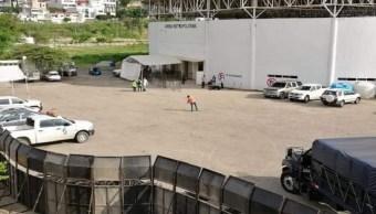 Instalan albergue para migrantes en Tuxtla Gutiérrez, Chiapas