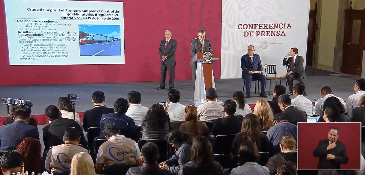 Transmisión en vivo: Conferencia de prensa AMLO 17 de junio 2019 (YouTube)