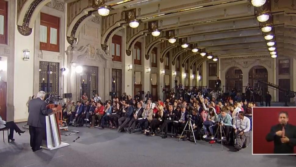 FOTO Transmisión en vivo: Conferencia de prensa AMLO 27 de junio 2019 (YouTube)