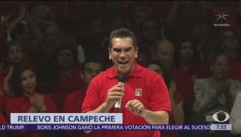 Congreso de Campeche aprueba licencia de Alejandro Moreno Cárdenas