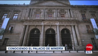 Conociendo el Palacio de Minería