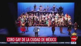 Foto: Coro Gay De La Ciudad De México 28 Junio 2019