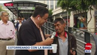 #CotorreandoconlaBanda: 'El Repor' suelto en Valerio Trujano