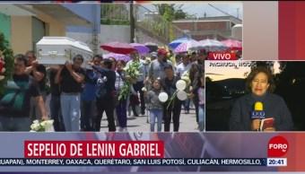 Foto: Dan Último Adiós Lenin Gabriel Hidalgo 27 Junio 2019