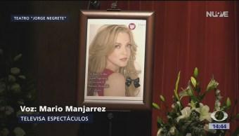 Foto: Dan último adiós a la actriz Edith González