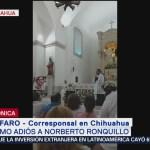 Foto: Dan último adiós a Norberto Ronquillo
