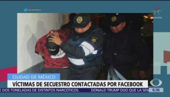 Delincuentes organizan secuestros desde la cárcel y contactan víctimas por Facebook