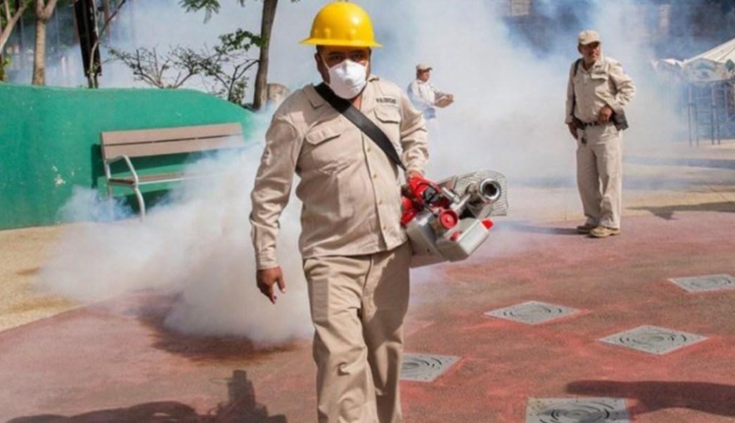 Foto: Autoridades de Oaxaca buscan eliminar criaderos del mosquito transmisor de enfermedades como dengue, zika y chikungunya (Foto: Secretaría de Salud de Oaxaca)