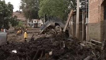 Desbordamiento de río en Jalisco destruye San Gabriel (FOROtv)