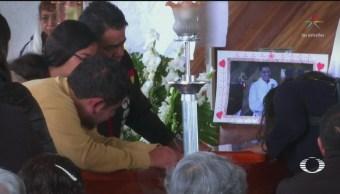 Foto: Despiden Hugo Avendaño Familiares Exigen Justicia 14 Junio 2019