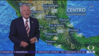 Despierta con Tiempo: Pronostican lluvias fuertes en el Valle de México