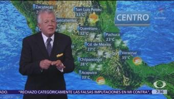 Despierta con Tiempo: Vapor de agua provocará lluvias en el centro