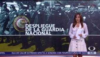 Despliegue de la Guardia Nacional en México