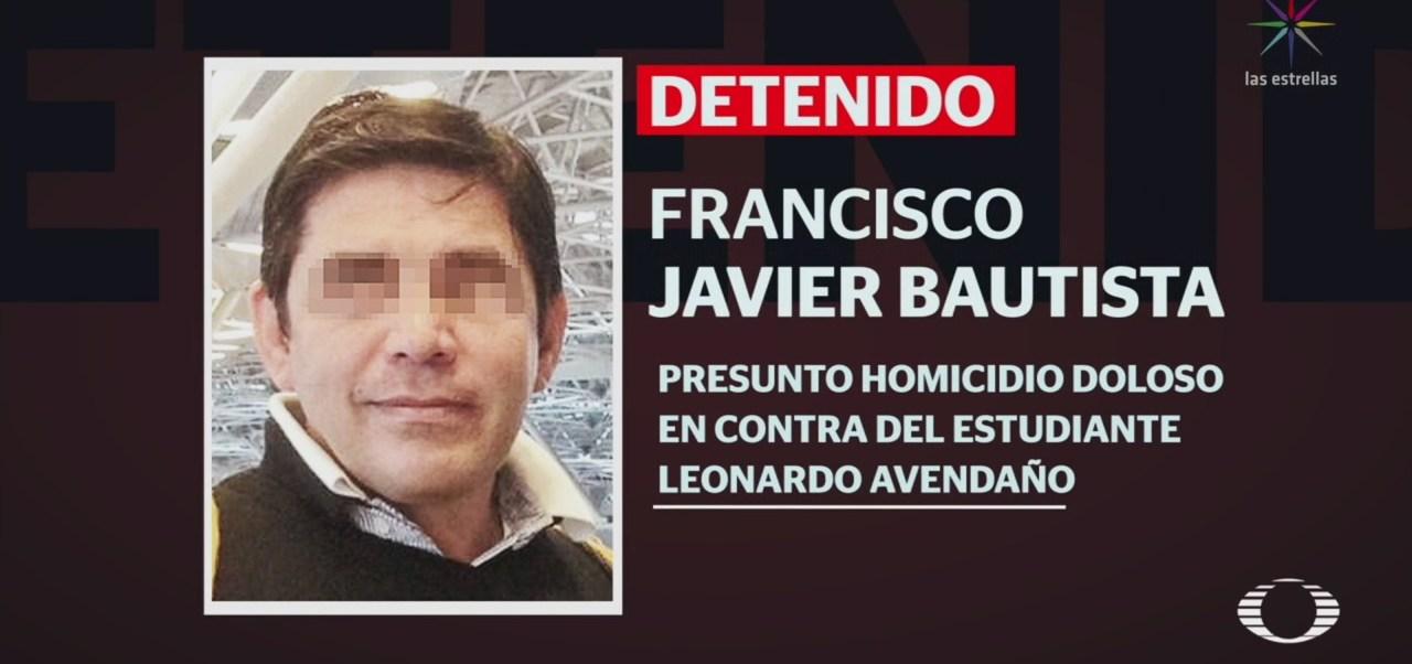 Foto: Detienen Responsable Homicidio Huego Leonardo Avendaño 19 Junio 2019