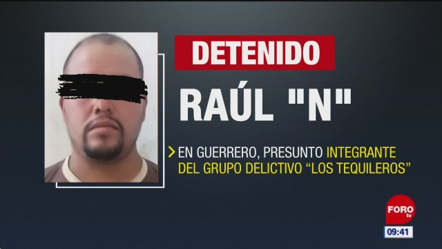 Detienen en Guerrero a 'El Padrecito', operador de 'Los Tequileros'