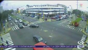 Atropellan a cuatro alumnas y un niño de tres años en Lima, Perú