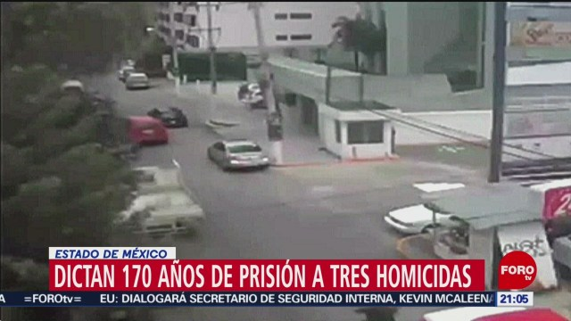 Foto: Dictan Prisión Homicidas Edomex 25 Junio 2019