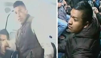 Foto Difunden imágenes de presuntos ladrones que dispararon a pasajero en combi 7 junio 2019