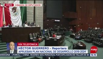Foto: Diputados aprueban el Plan Nacional de Desarrollo