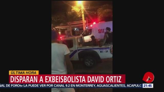 Foto: Disparan Exbeisbolista David Ortiz 9 Junio 2019