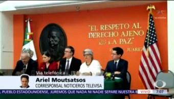 Ebrard informa desde Washington la posición de México sobre aranceles