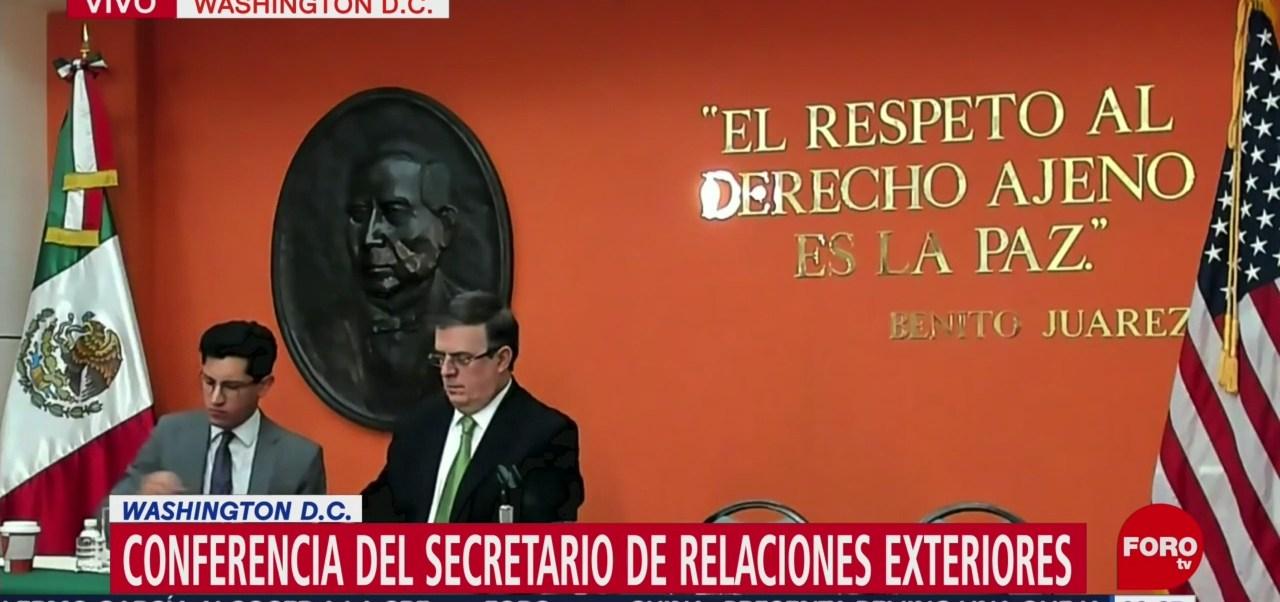Ebrard: Sí habrá negociación de aranceles con Estados Unidos