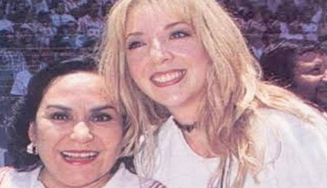 Foto Entre lágrimas Carmen Salinas lamenta muerte de Edith González 14 junio 2019