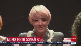 Edith González causó furor por su sobresaliente actuación en 'Aventurera'