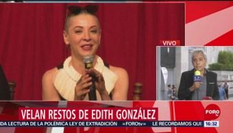 FOTO: Edith González enfrentó su enfermedad con valentía