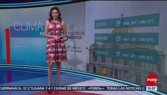 Foto: El Clima A las Tres con Daniela Álvarez del 26 de junio de 2019